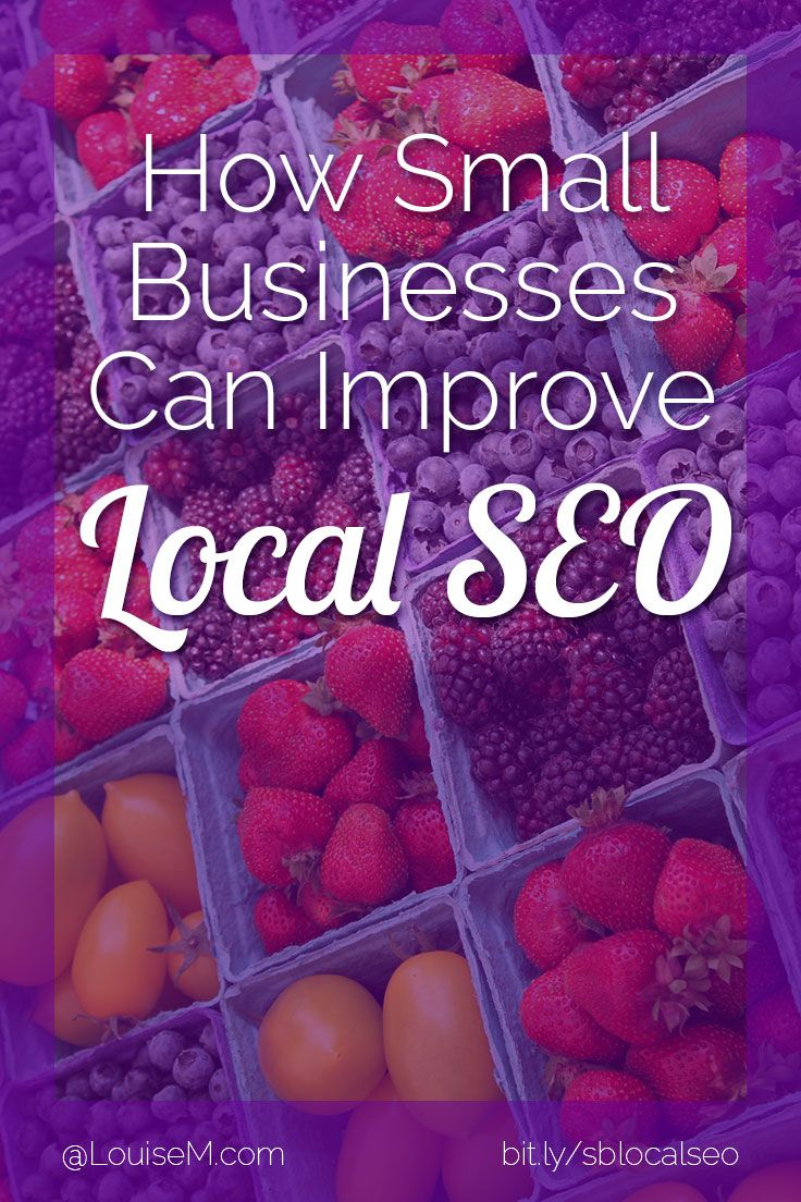 Local SEO: Here's the primer for small businesses that want to be known in their surrounding areas!