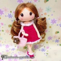 Amigurumi Sweet Doll-Free Pattern
