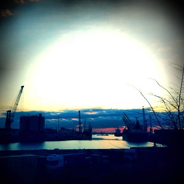 #portomarghera  #alba #dawn