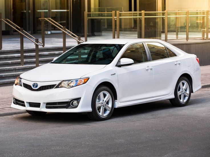 Toyota Camry Hybrid Se 2014 White Exterior Designs With