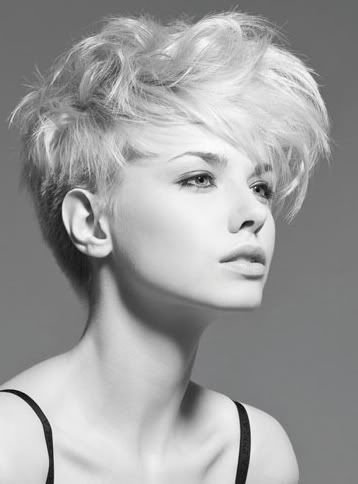 "Women who stop saying, ""I wish I could wear short hair""...and just frickin' cut it. Guess what...you CAN wear short hair, you're just afraid to. It's hair and attitude."