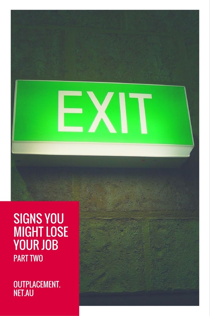 Warning signs you might be about to lose your job and be made redundant - part two. What to look out for. How to cope. By Glide Outplacement and Career Coaching.