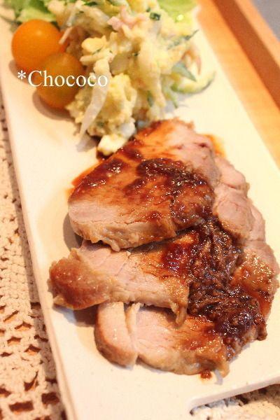 ストウブ】 豚もも肉ブロックでチャーシュー レシピ by chococoさん ...
