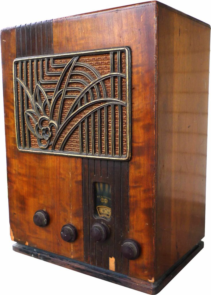 1934 rca victor model 124 art deco tombstone radio ready to restore. Black Bedroom Furniture Sets. Home Design Ideas