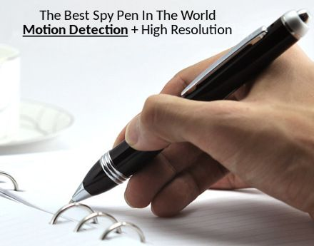 THE BEST SPY PEN IN THE WORLD !! - Professional spy pen with MOTION DETECTION, free shipping, supports AA batteries, 1280x960 resolution, records video & audio, check it out!