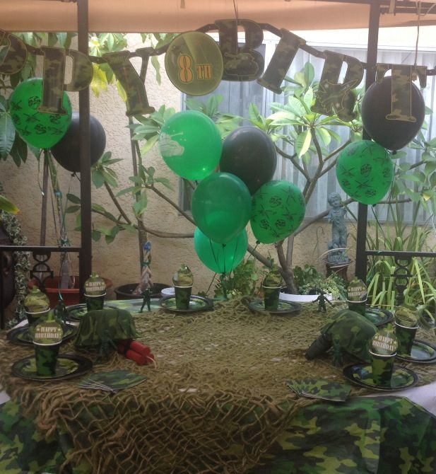 Military Ball Decorations: 23 Best Images About Army/camouflage Party Ideas On