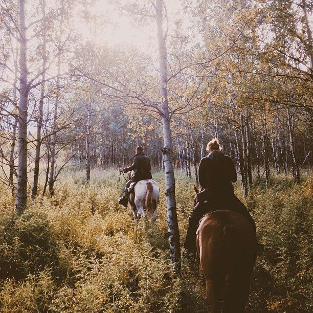 Autumn Horseback Riding Is The Best Thing