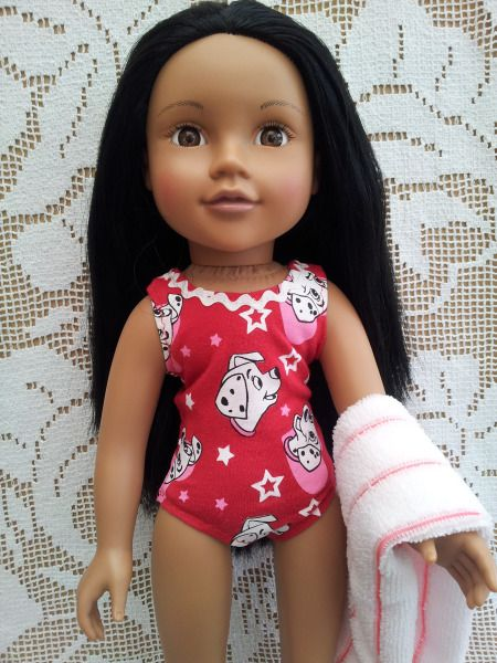 101 Dalmations swimsuit & towel