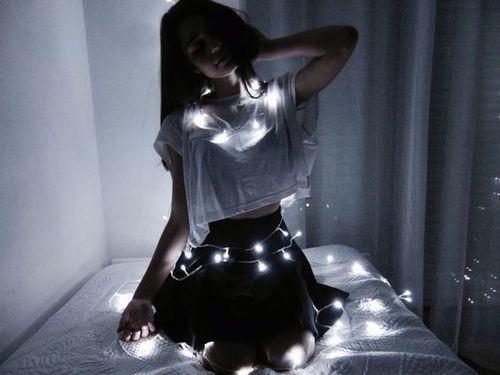 Imagem de girl, light, and grunge