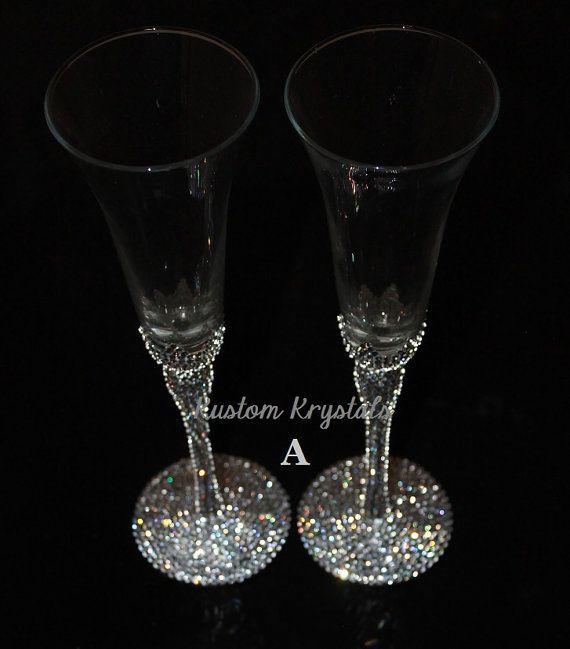Hey I Found This Really Awesome Etsy Listing At Https Www 158069292 Custom Swarovski Crystal Embellished Wedding Ideas Pinterest