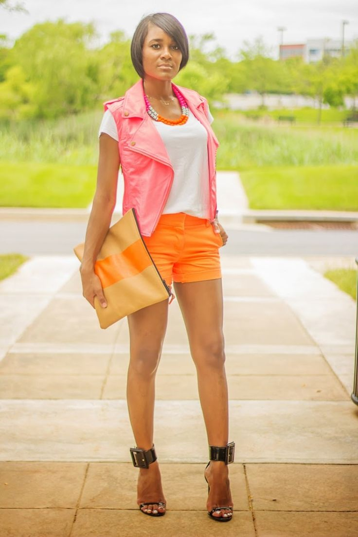 Pink Orange Neon Streetstyle 5 - pictures, photos, images