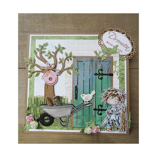 Marianne Design Creatables Dies - Vintage Door LR0312 < Craft Shop | Cuddly Buddly Crafts