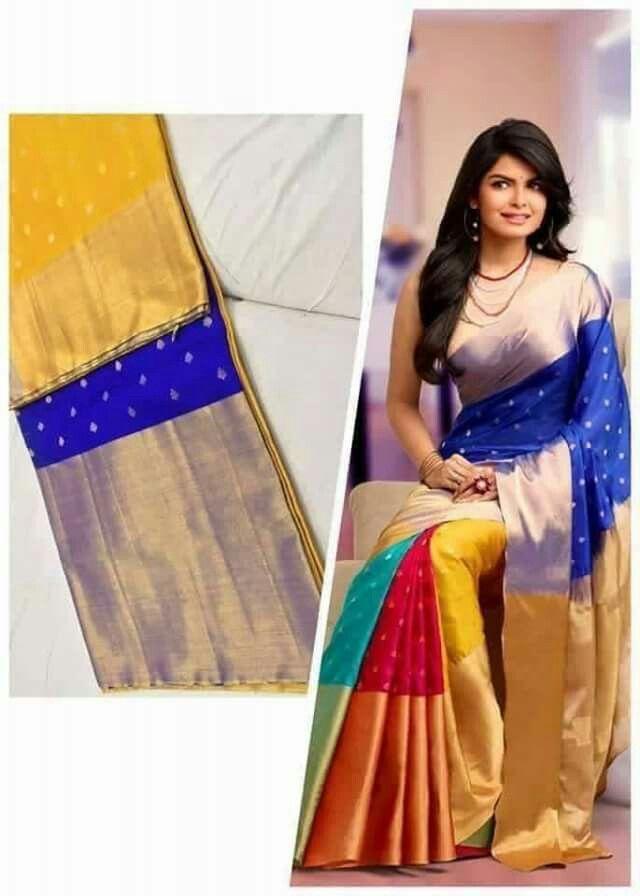Uppada multi coloured SAree