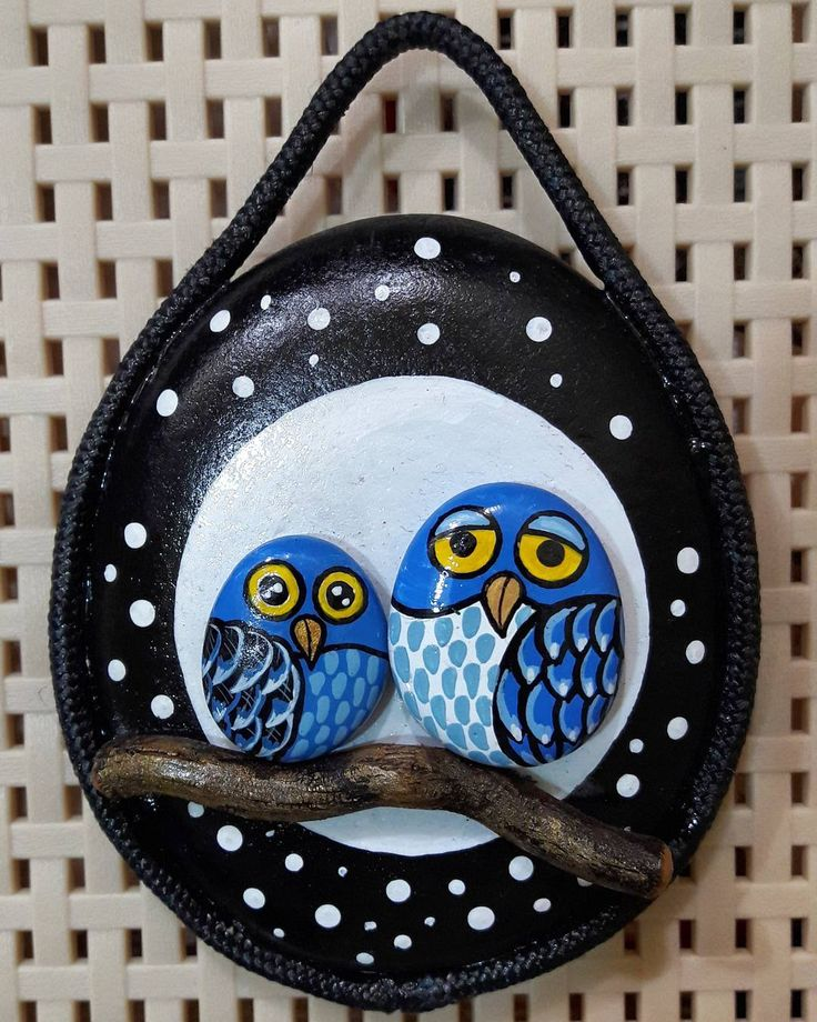 #taşboyama #taştablolar #stonepainting #owl