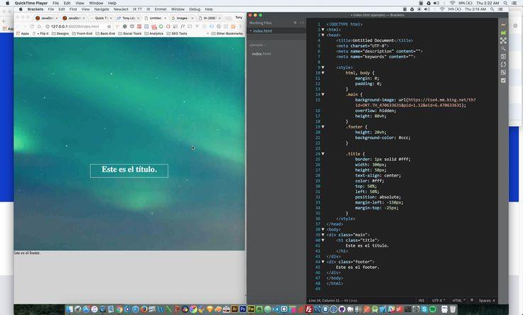 En este tutorial les muestro como cubrir la pantalla completa con una imagen de fondo utilizando HTML y CSS.  #devxlab  #desarrolloWeb