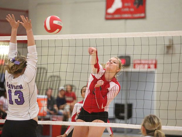 Coconino High School volleyball takes the win in fourth set