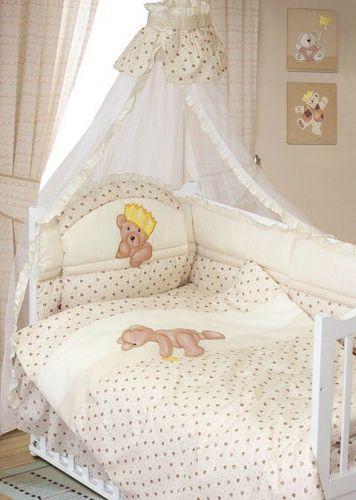 Детское постельное белье Мишка-Царь, Золотой Гусь