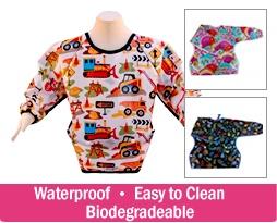 $15 for a Perfect Pocket Waterproof Smock Bib  http://www.kuklamoo.com/offers/view/pocketsmockbib