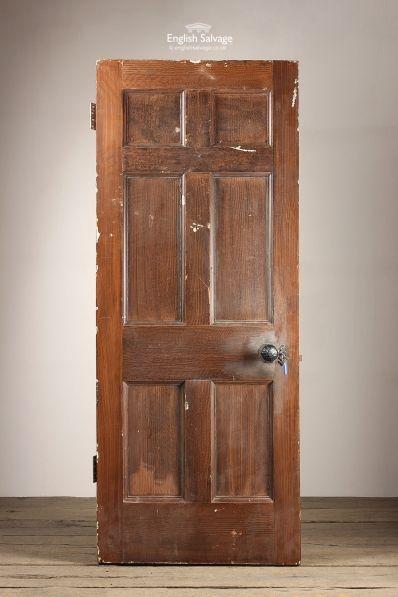 Antique Oak 6 Panel Door · Internal DoorsPanel ...
