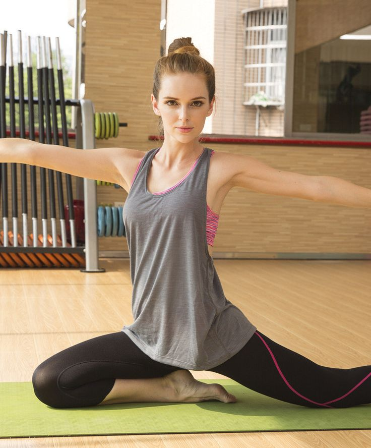 2015 Sexy Vrouwen Gym Tank Tops Sneldrogende Sportbeha Fitness tweedelige Mouwloos Shirt Vest Running Training Kleding voor Vrouwen in  van tank tops op AliExpress.com | Alibaba Groep