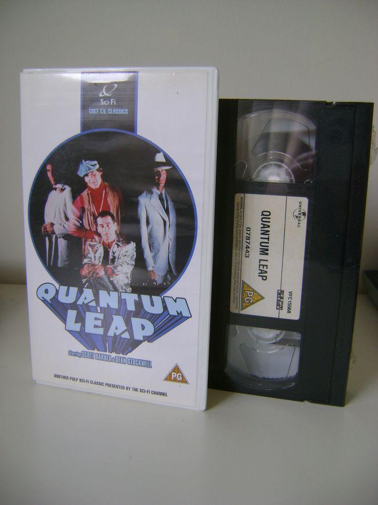 Quantum Leap VHS - still sealed!