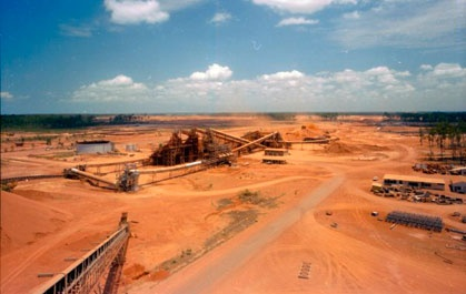 Red dirt at the mine, Weipa