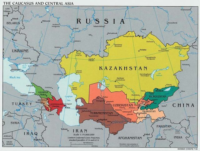 Армии мира. Армейские анекдоты. Военные приколы : Самая сильная армия Средней Азии