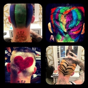 Joel Madden colours for The Voice Australia done by Jessica Lean at #RenyaXydisCitySalon #Valonz