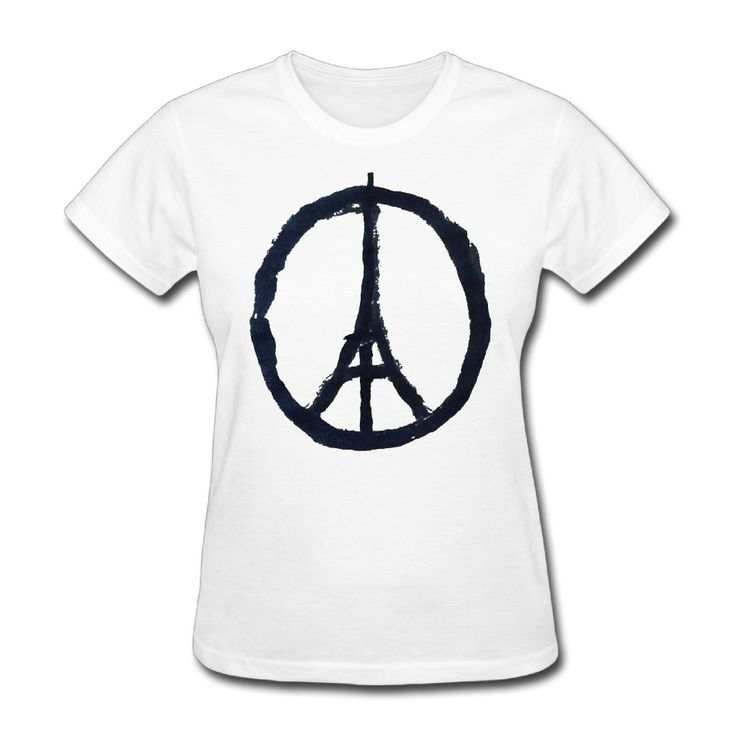 >> Click to Buy << Women Pray for Paris Beirut Humanity Vintage short sleeve T Shirt unique White #Affiliate