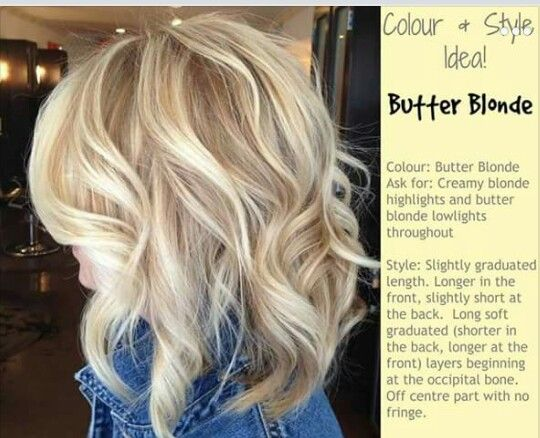 Butter Blonde♡ Hair Ideas Products And Tips