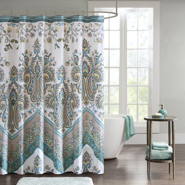 East Rolstone Floral Single Shower Curtain Hooks With Images