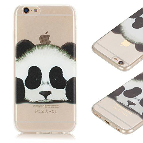 Coque iPhone 6S , iPhone 6 Etui TPU , CaseLover Panda Motif Mode Etui Coque TPU Slim pour Apple iPhone 6 / 6S (4.7 pouces) Mode Flexible Souple Soft Case Couverture Housse Protection Anti rayures Mince Transparent Silicone Cover Blanc - https://streel.be/coque-iphone-6s-iphone-6-etui-tpu-caselover-panda-motif-mode-etui-coque-tpu-slim-pour-apple-iphone-6-6s-4-7-pouces-mode-flexible-souple-soft-case-couverture-housse-protection-anti-rayures-minc/