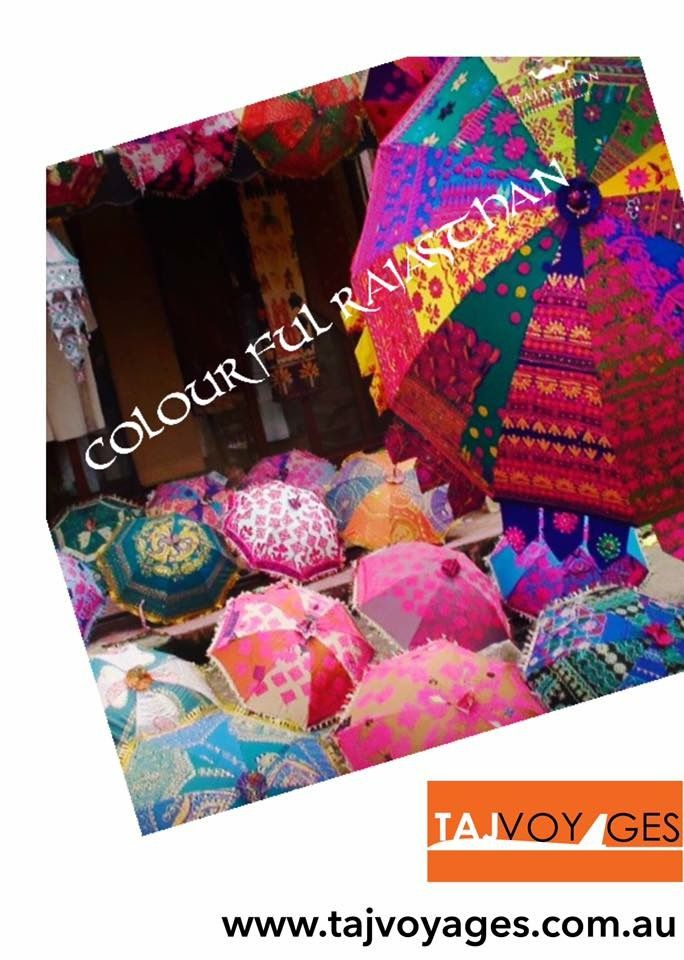 How many colours can you see in this image?  That colourful is RAJASTHAN. Check out our RENDEZVOUS RAJASTHAN & RAJASTHAN HERITAGE tour. Visit www.tajvoyages.com.au