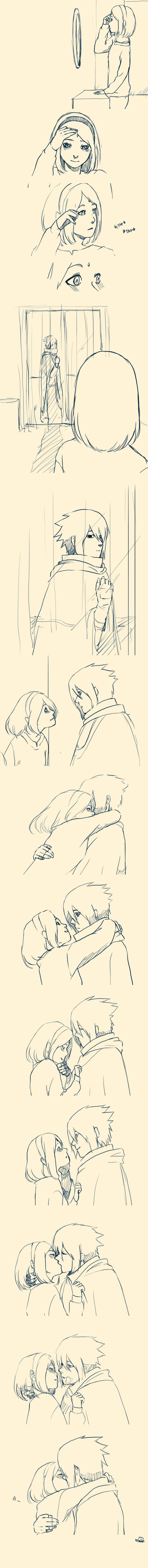 Sasusaku after The Last This is probably one of the cutest SasuSaku things I've ever seen! I love it