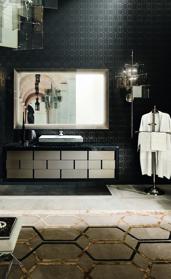 A design vision taking shape in the Ritz collection by Mitage is inspired by the classic bathroom furniture to reinterpret them with a fully contemporary. http://www.mitage.it/collection/ #kehacasa #kehacasabath