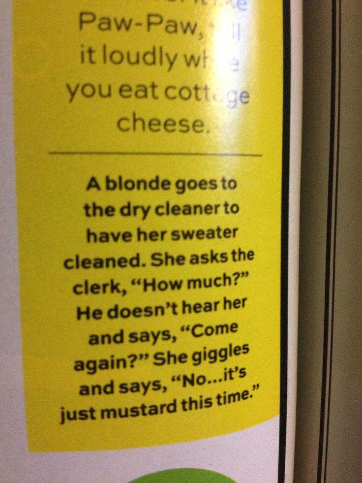 blonde jokes funny dirty - photo #3