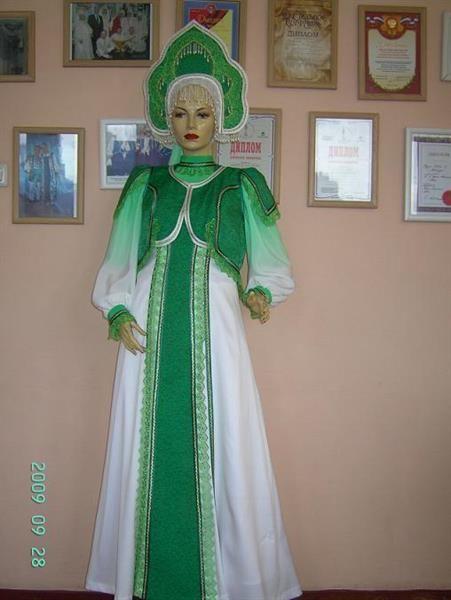 Фото стилизованных русских народных костюмов