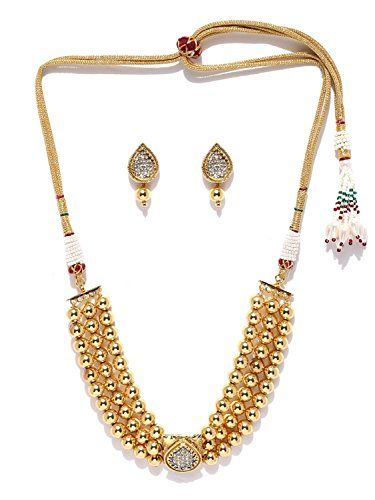Traditional Indian Bollywood Gold Plated 3 Strand Cz Eleg... https://www.amazon.com/dp/B01N7HP0QV/ref=cm_sw_r_pi_dp_x_uHtVyb4M3GAV9