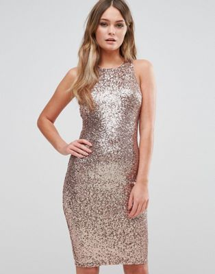 New Look Sequin Bodycon Dress