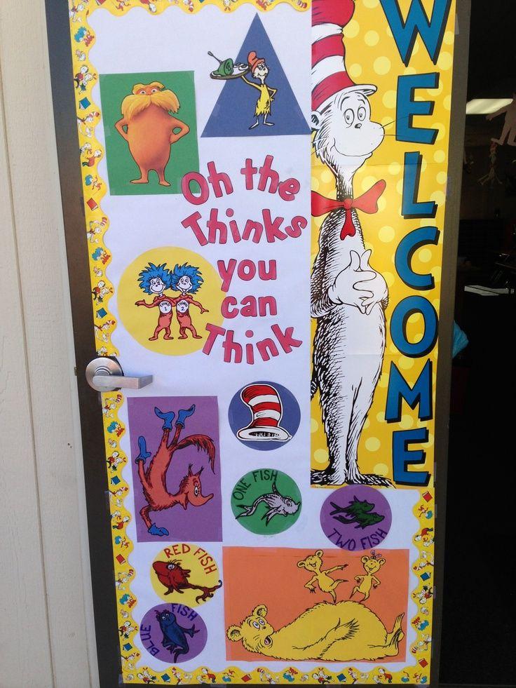 Classroom Decorations Dr Seuss ~ Best dr seuss classroom images on pinterest