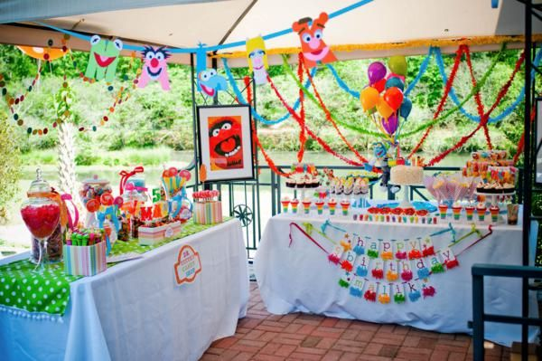 muppets: Muppets Party'S, Birthday Parties, Theme Parties, Muppets Theme, Muppets Parties, The Muppets, Parties Ideas, Parties Theme, Muppets Birthday