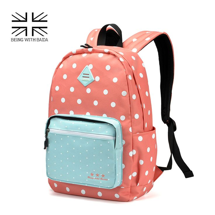 =>>CheapBest Sweet Polka Dots Backpack High Quality Pink Cute Backpacks Rugzak Stipjes School Bookbags For Teens GirlsBest Sweet Polka Dots Backpack High Quality Pink Cute Backpacks Rugzak Stipjes School Bookbags For Teens GirlsBest...Cleck Hot Deals >>> http://id458910736.cloudns.ditchyourip.com/32710649863.html images