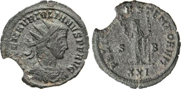 NumisBids: Numismatica Varesi s.a.s. Auction 65, Lot 270 : GIULIANO DI PANNONIA (284-285) Antoniniano. D/ Busto radiato e...