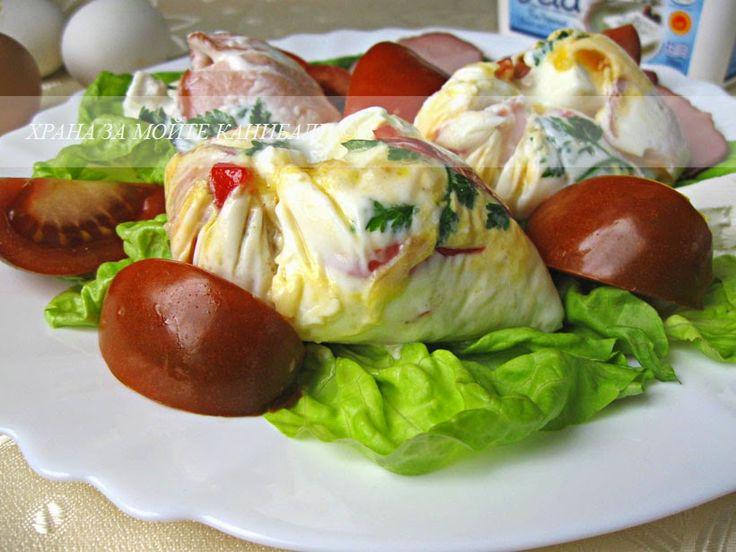 Храна за мойте канибали: Хармония в хаоса, или пъстри поширани яйца :)