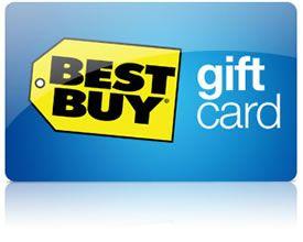 Best Buy gift card!