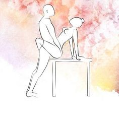 Sexstellung Tischlein deck mich