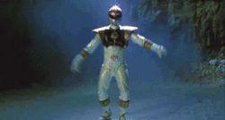 MMPR Movie White Ranger