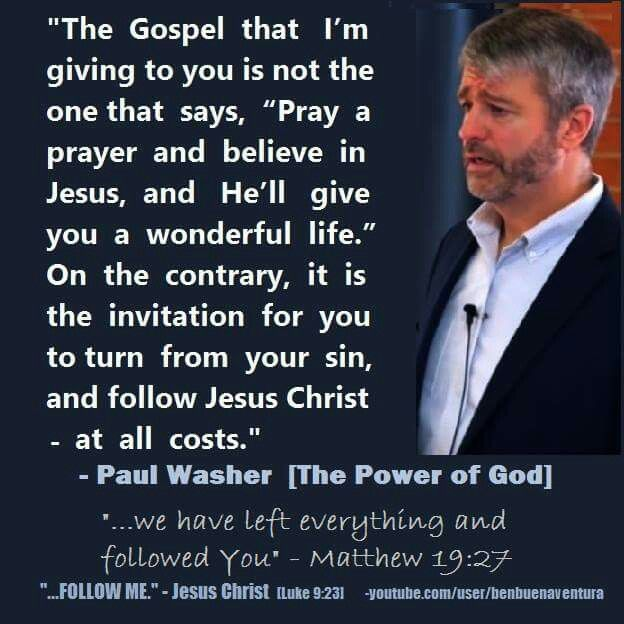 25+ Best Paul Washer Quotes On Pinterest