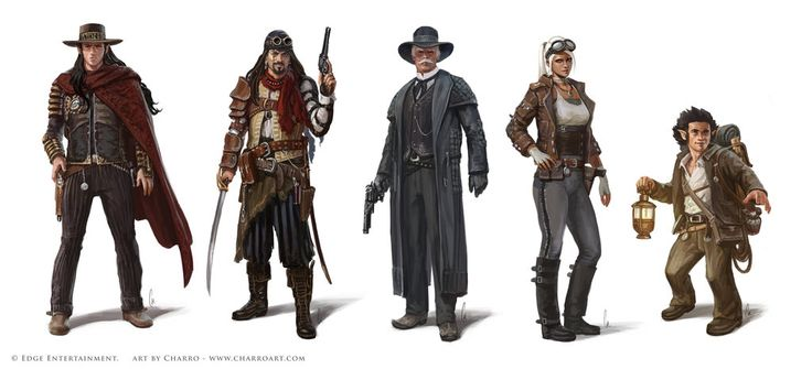Steam States' Characters by charro-art on DeviantArt ...