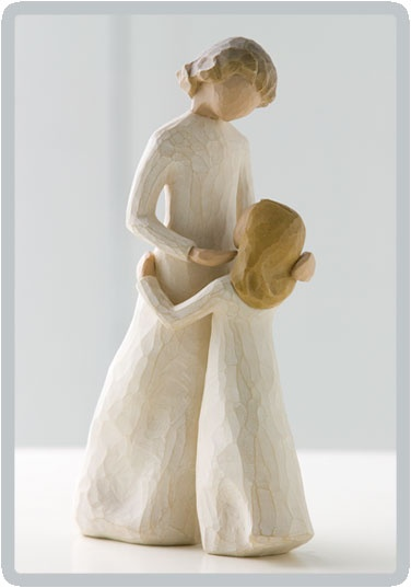 Mother's Day gift idea.  Willow Tree Mother and Daughter $28.95